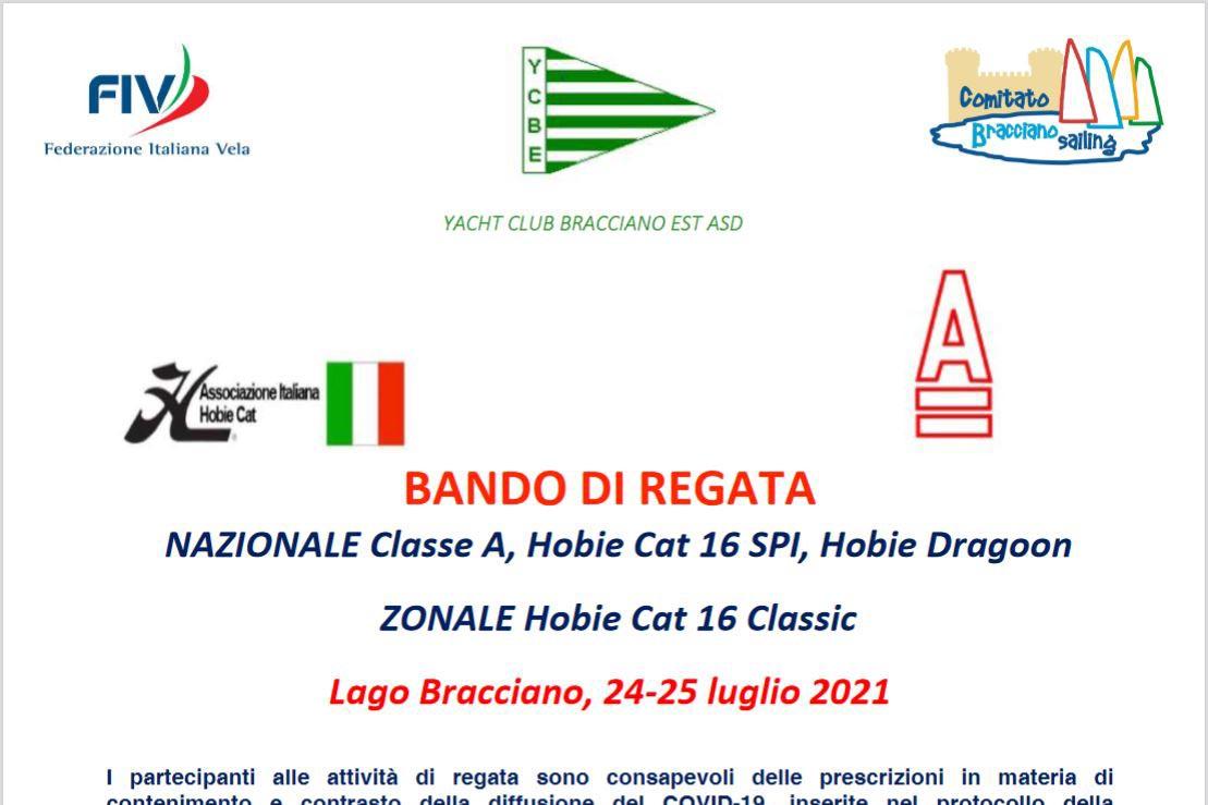 Lago Bracciano, 24-25 luglio